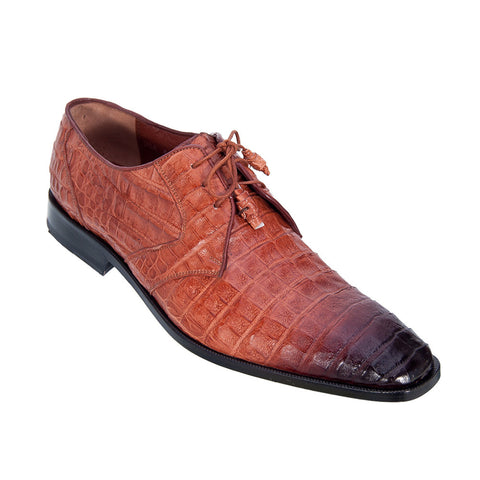 Los Altos Men's Caiman Dress Shoes - VaqueroBoots.com - 1