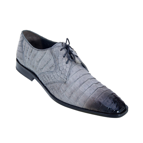 Los Altos Men's Caiman Dress Shoes - VaqueroBoots.com - 7