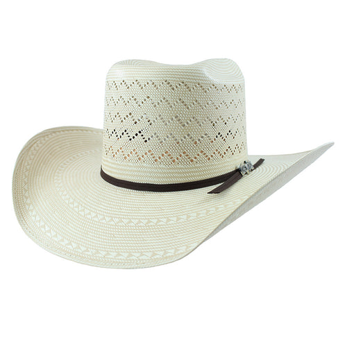 Cuernos Chuecos Full Mountain Brick Crown Cowboy Hat - VaqueroBoots.com