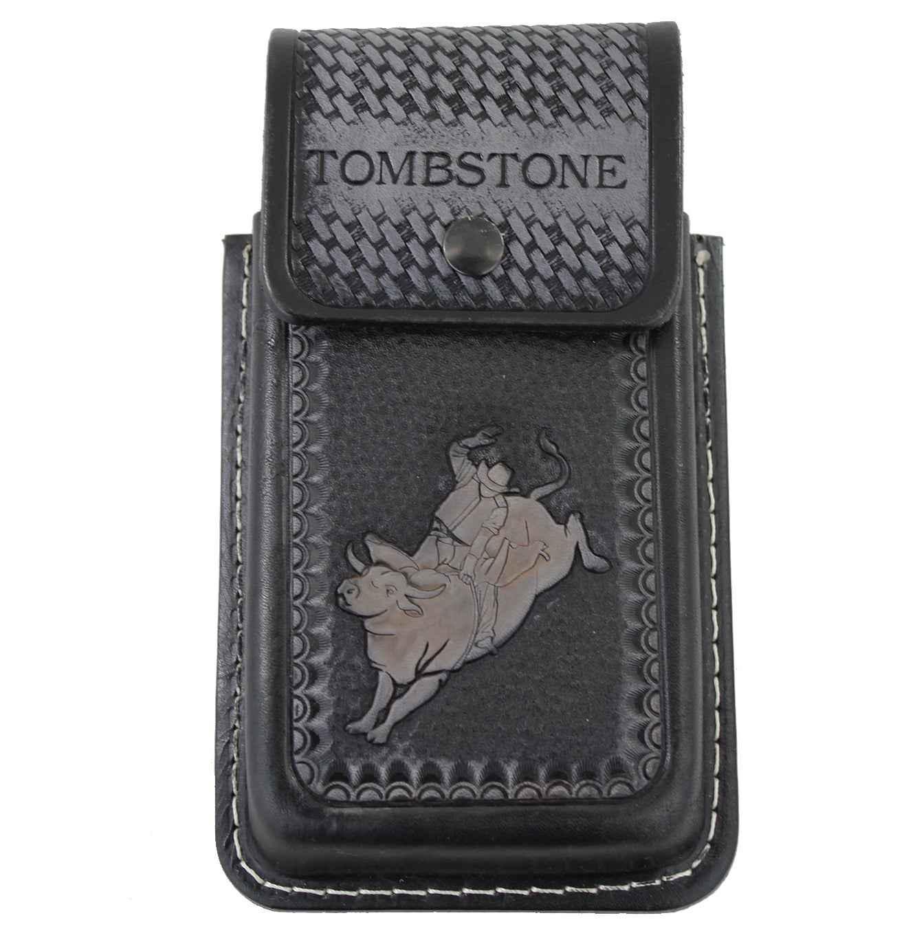 Tombstone Bull Rider Cell Phone Case