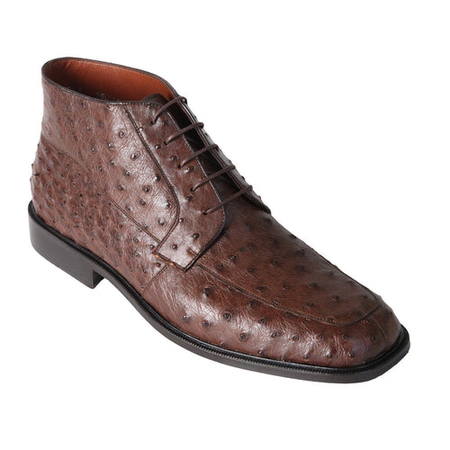 Men's High Top Ostrich Shoes - VaqueroBoots.com - 2