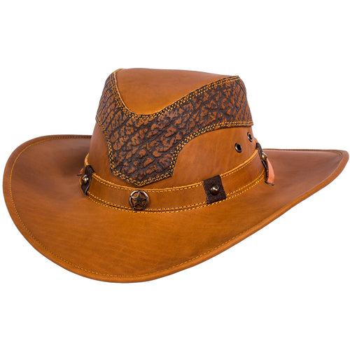 Stone La Sierra Leather Hat