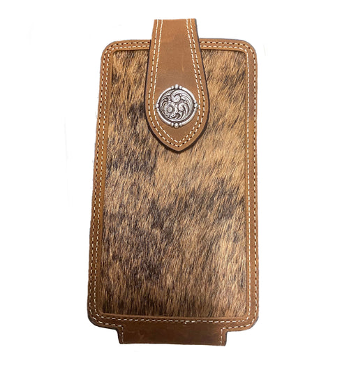 Nacona Calf Hair Cell Phone Case