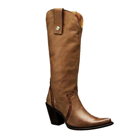 Cuadra Ladies Calf Classic Tall Boot - IW52AT - VaqueroBoots.com - 1