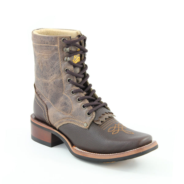 Tombstone Women's Square Toe Lace Up Boots