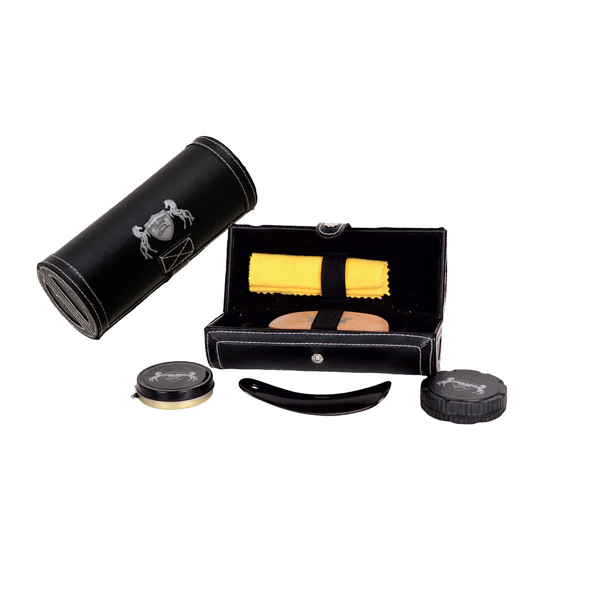 Leather Boot Polish Travel Kit - VaqueroBoots.com