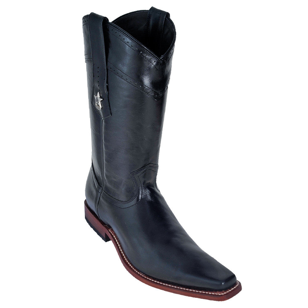 Los Altos Men's Vergel European Toe Boots - VaqueroBoots.com - 3