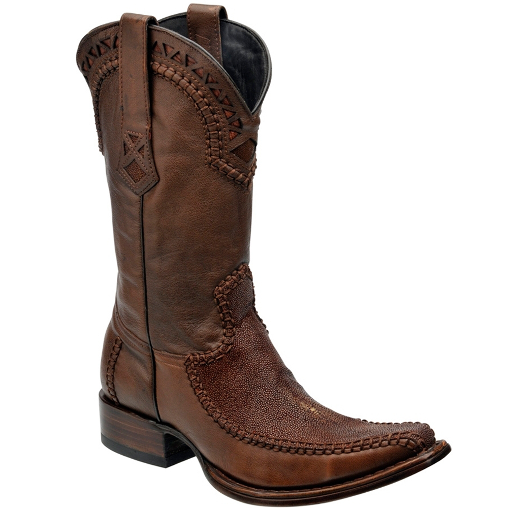 Cuadra Men's Stingray Western European Toe Boot - VaqueroBoots.com - 2