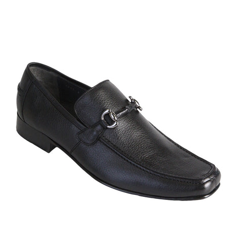 Men's Deer Leather Loafers - VaqueroBoots.com - 1