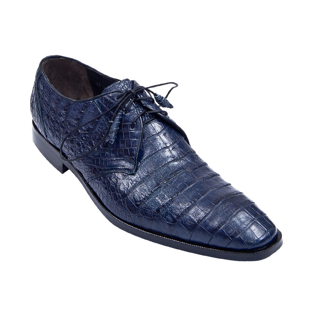Los Altos Men's Caiman Dress Shoes - VaqueroBoots.com - 6