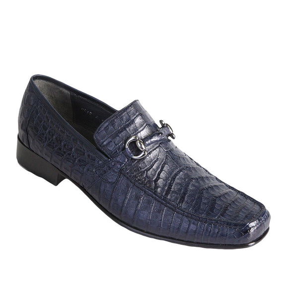 Los Altos Men's Caiman Belly Loafers - VaqueroBoots.com - 1