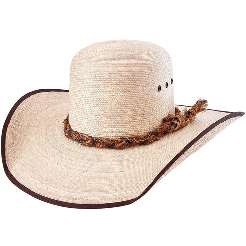 Sahuayo Palm Leaf Open Crown Cowboy Hat - VaqueroBoots.com - 2