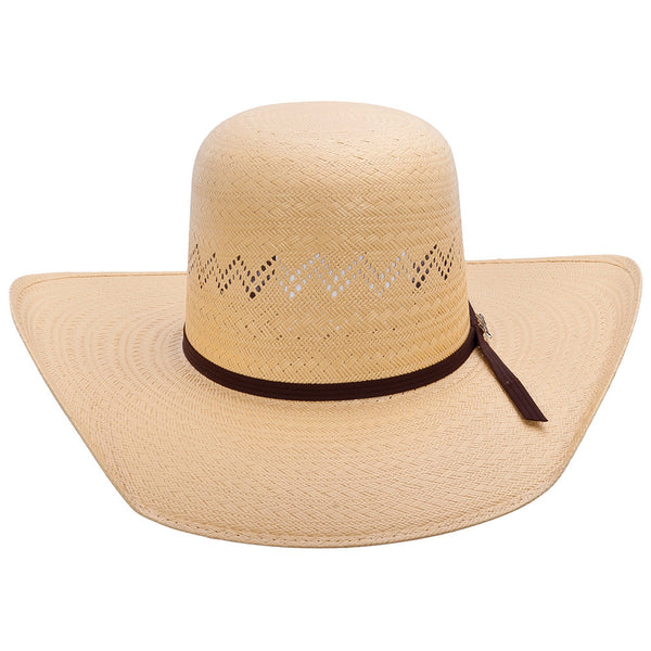 Tombstone Open Crown Cowboy Straw Hat - VaqueroBoots.com - 2