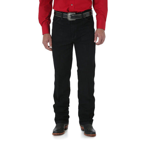 Wrangler Cowboy Cut Slim Fit Jean Shadow Black - VaqueroBoots.com - 1