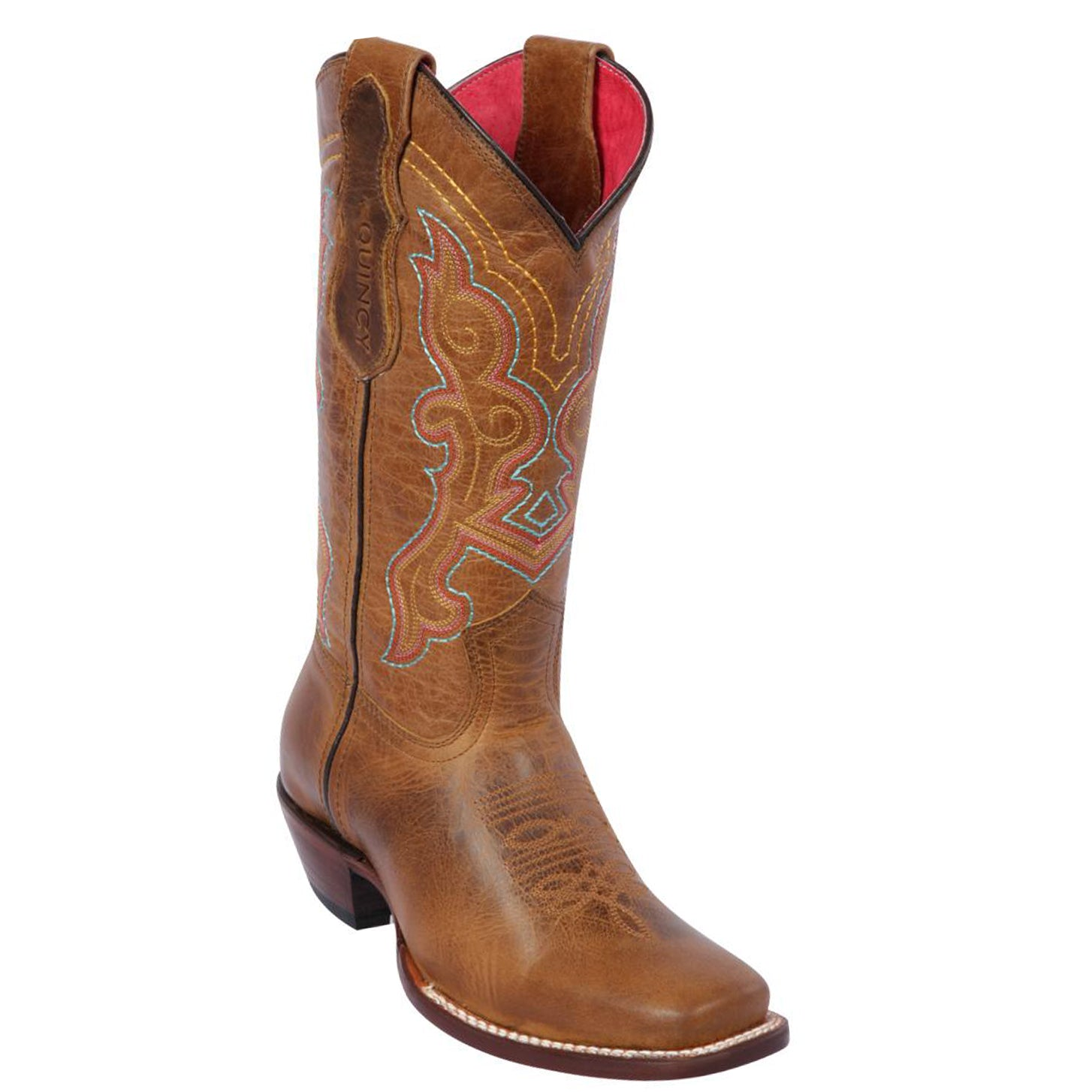 Quincy Buttercup Square Toe Cowgirl Boots