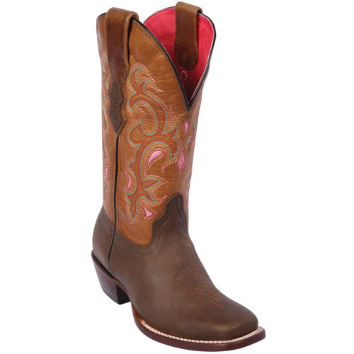 Quincy Brown Square Toe Cowgirl Boots