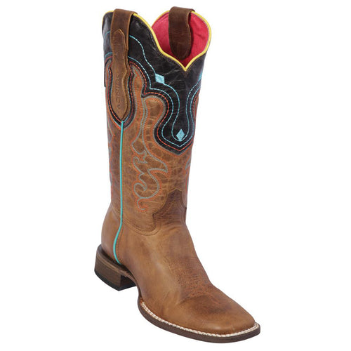 Quincy Volcano Honey Cowgirl Boots