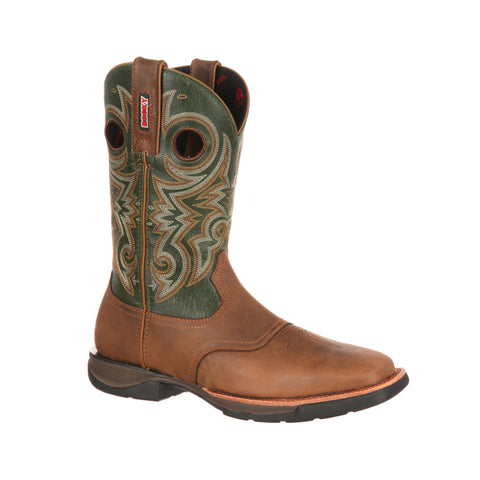 Rocky Men's Ride LT Saddle Western Boot - RKW0140 - VaqueroBoots.com - 1
