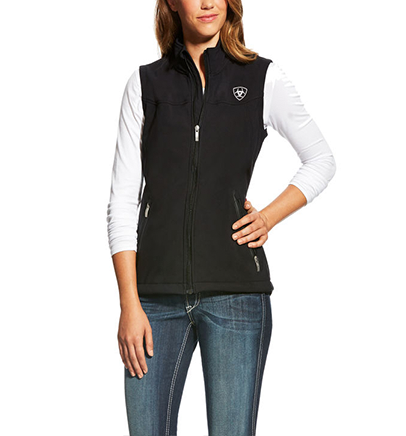 Ariat Women's New Team Softshell Vest