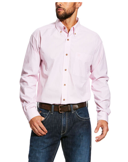Ariat Men's Pro Series Dayne Mini Stripe Shirt