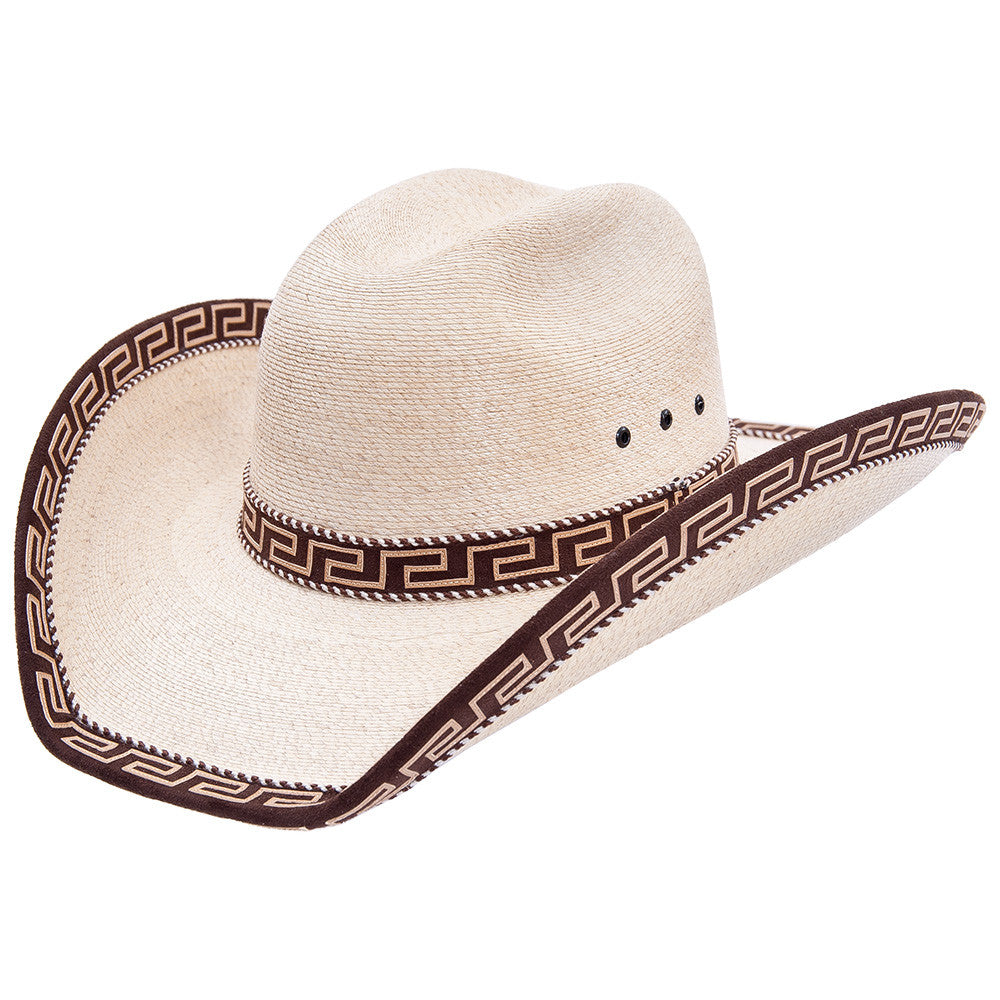 Sahuayo Palm Decorated Cowboy Hat - VaqueroBoots.com - 1