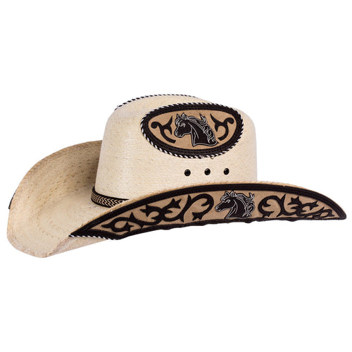 Stone Sahuayo Decorated Cowboy Hat
