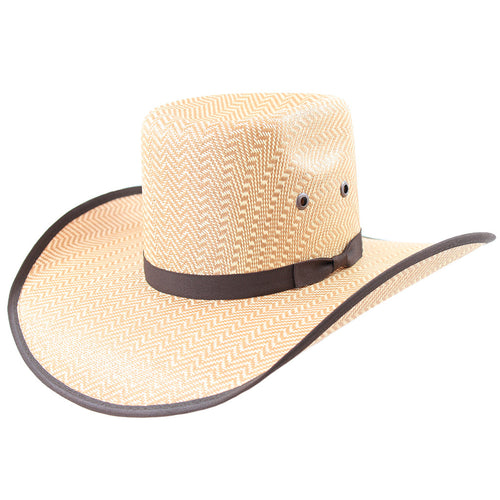 Kids Pro Bull Cowboy Straw Hat by Stone Hats