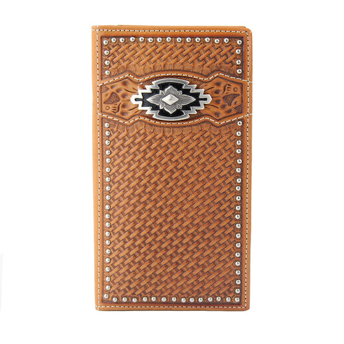Ariat Tan Rodeo Wallet