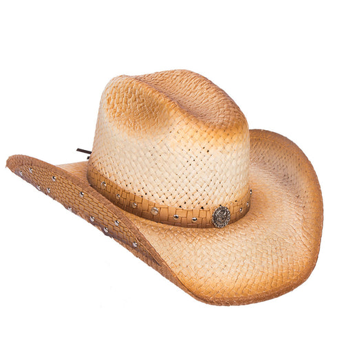 Women's Tan Straw Hat