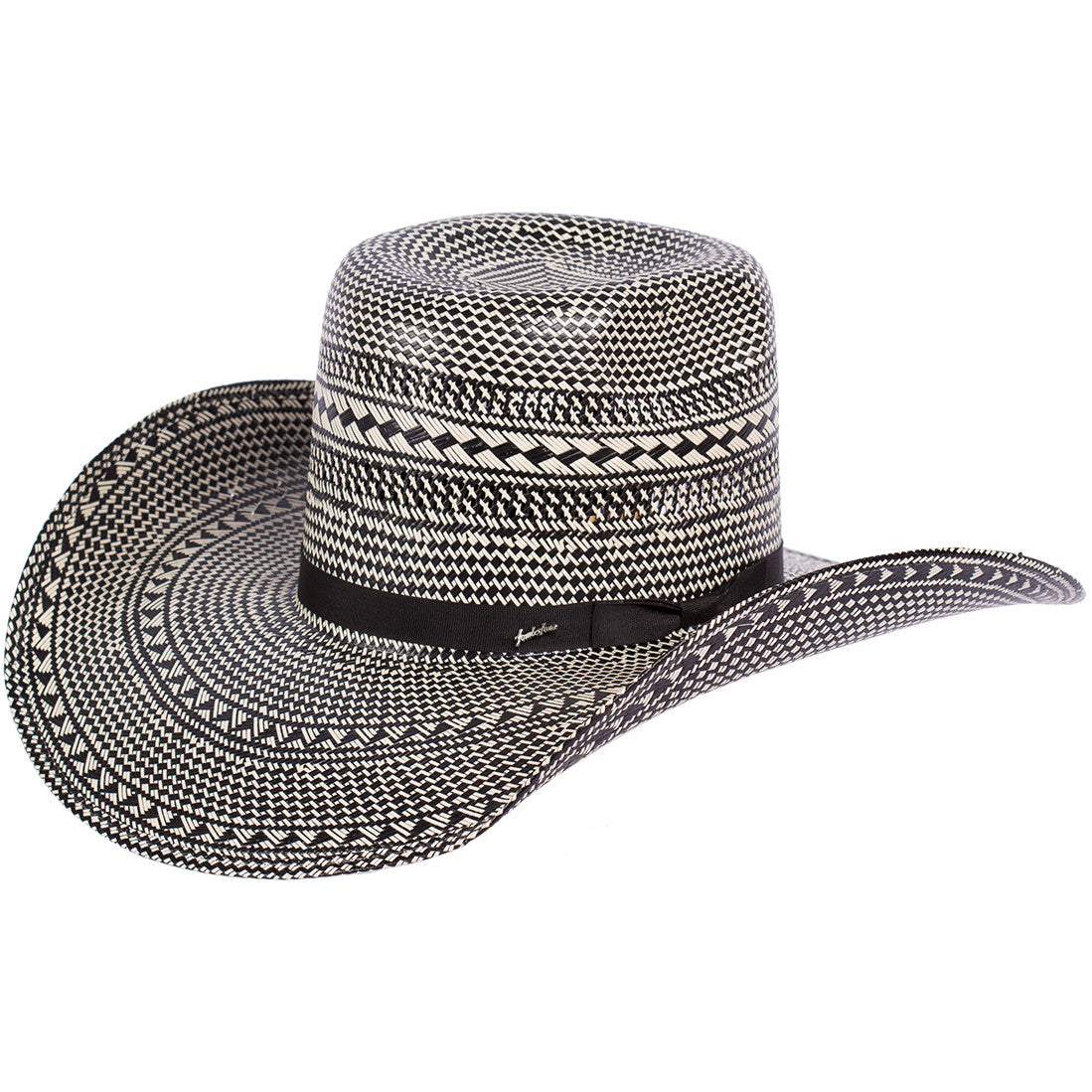 Tombstone Pro Bull Black/Natural Cowboy Hat