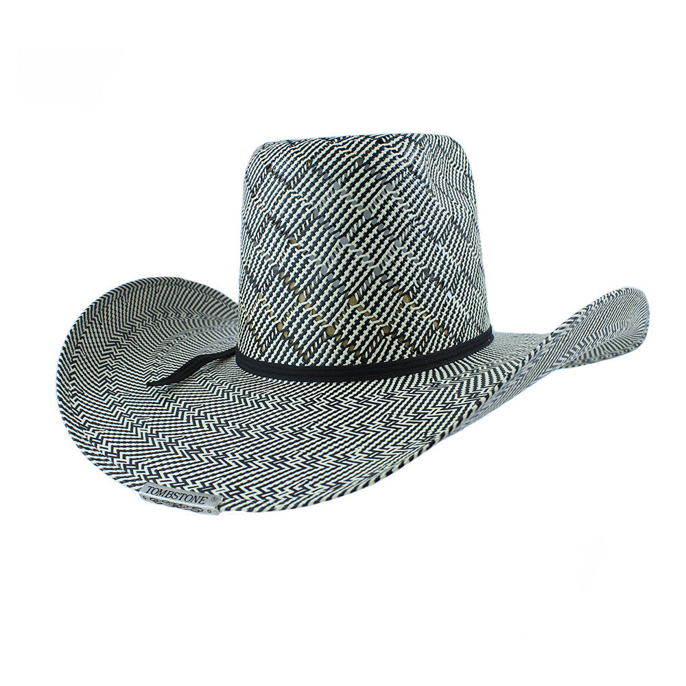 Tombstone Score Hot Two-Tone Cowboy Hat - VaqueroBoots.com - 2