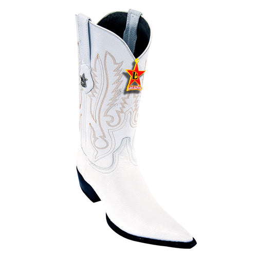 Los Altos Pointed Toe Deer Cowboy Boots - VaqueroBoots.com - 2