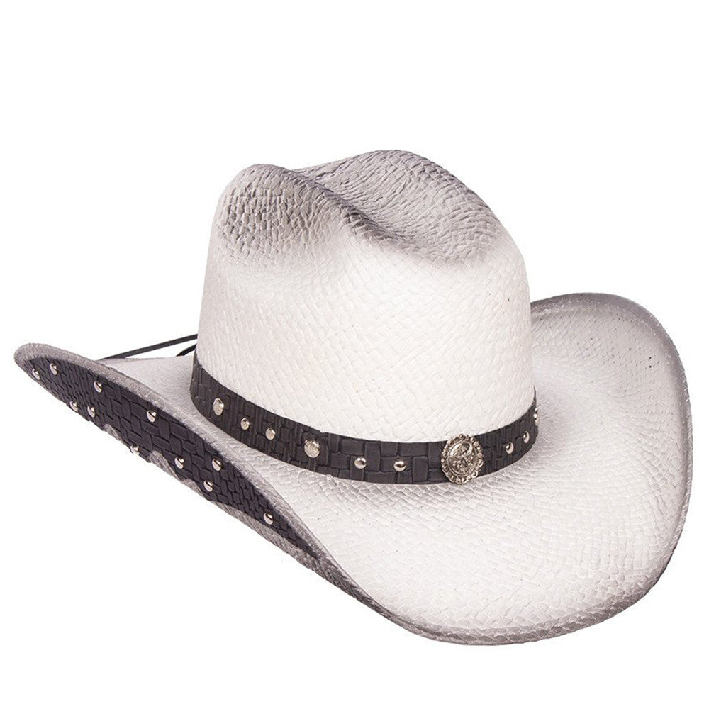 Women's White Straw Hat