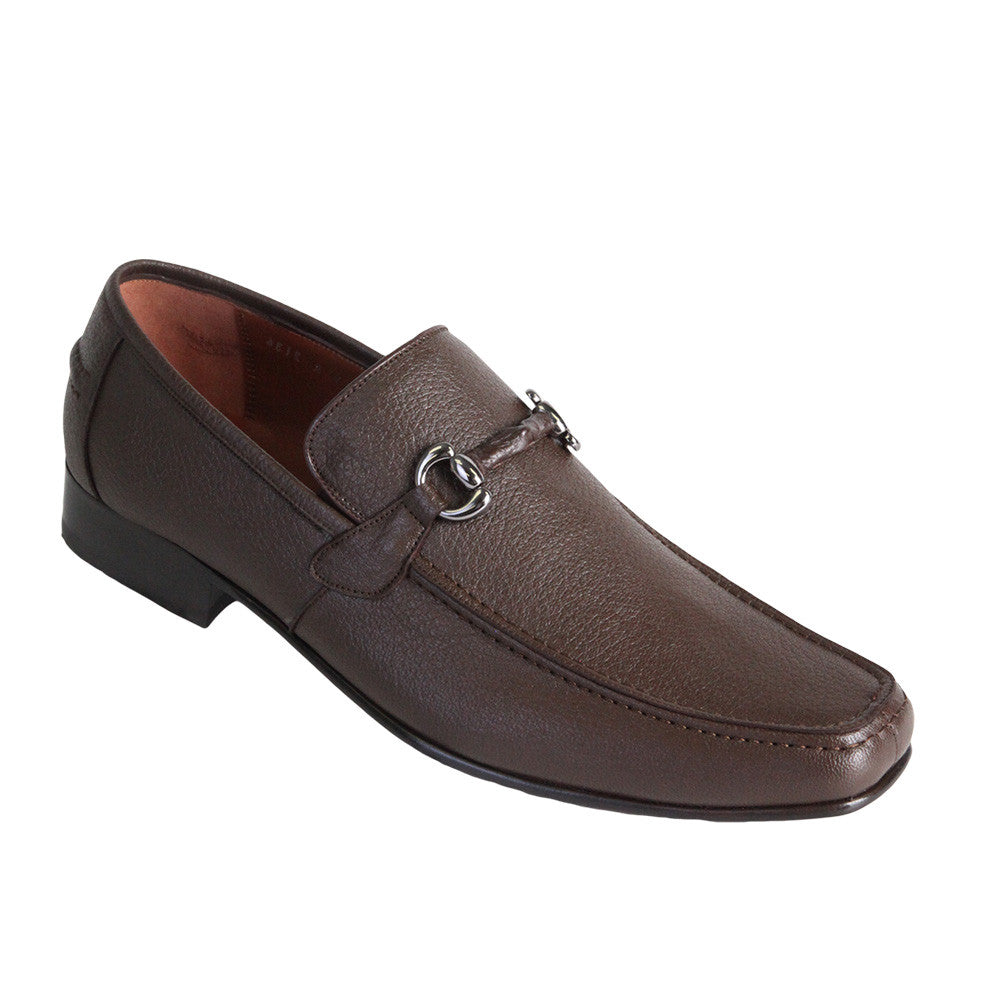 Men's Deer Leather Loafers - VaqueroBoots.com - 2