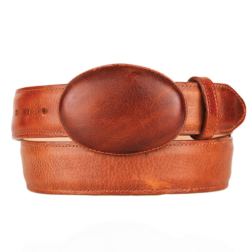 Men's Leather Belt Grisly - VaqueroBoots.com - 1