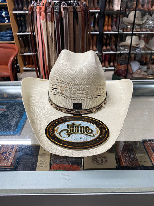Natural Bangora Kid's Cowboy Hat by Stone Hats