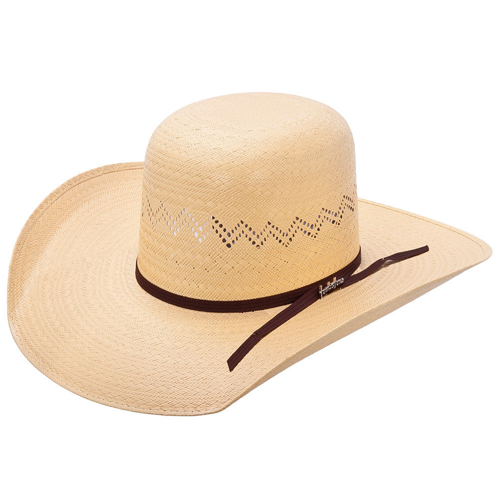 Tombstone Open Crown Cowboy Straw Hat - VaqueroBoots.com - 1