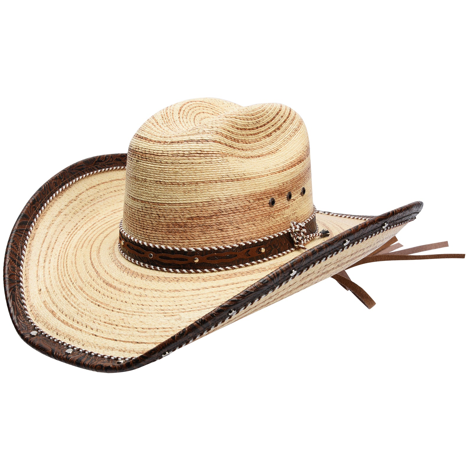 Palm Straw Hat by Stone Hats