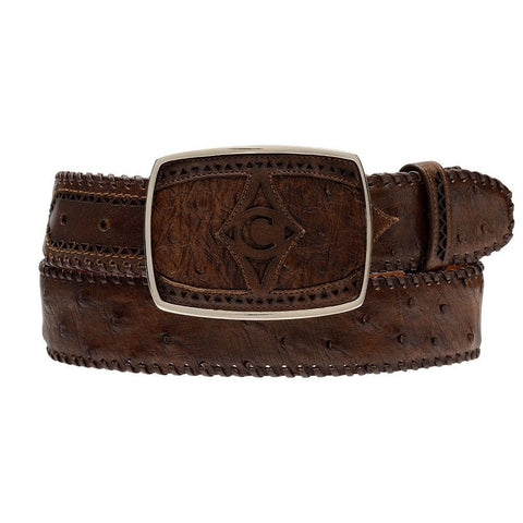 Men's Caiman Belly Western Belts