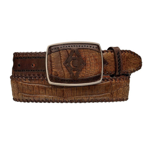 Men's Ostrich Western Belts