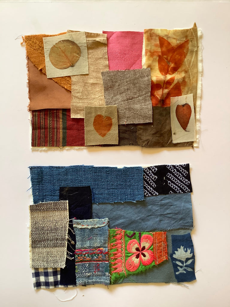 Patchwork Pouch Fabric Kit 11