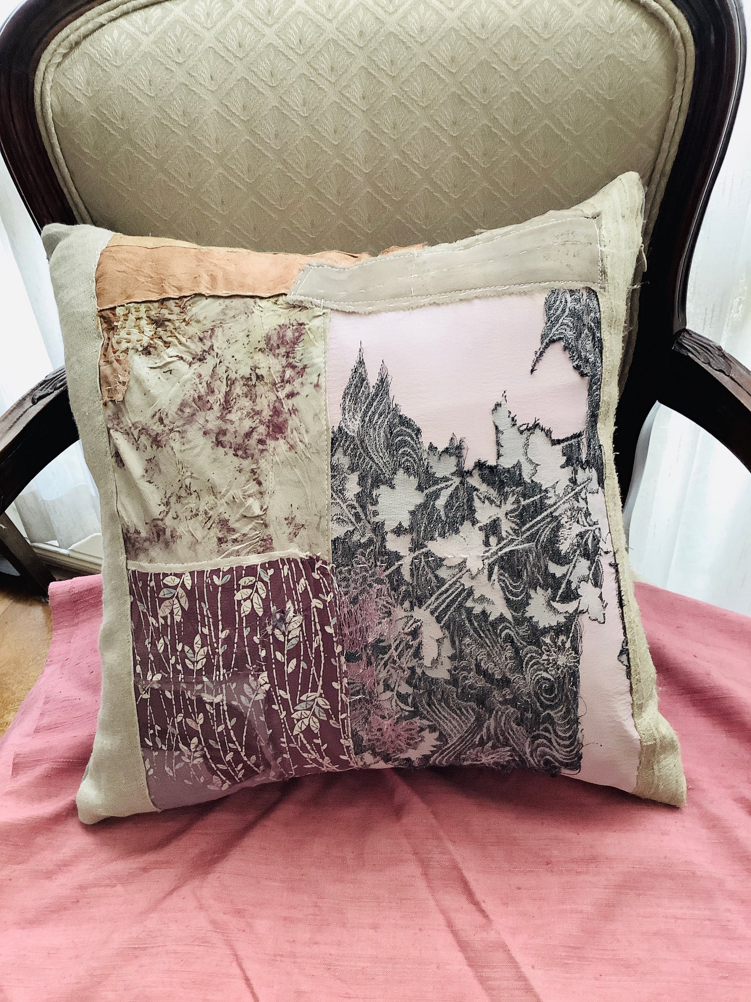Patchwork cushion 1