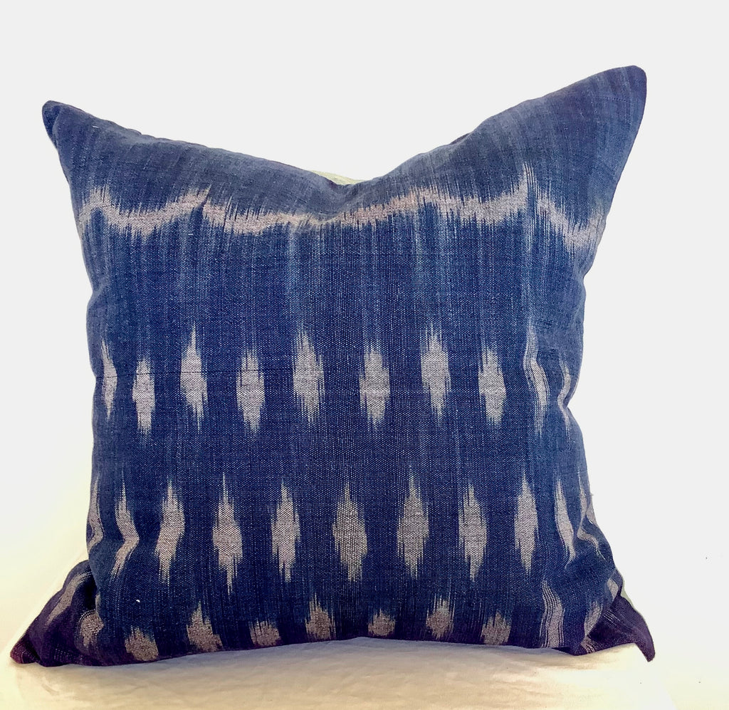 Susu - Polka dot Ikat cushion