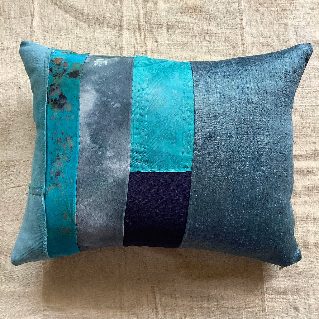Seli - patchwork cushion