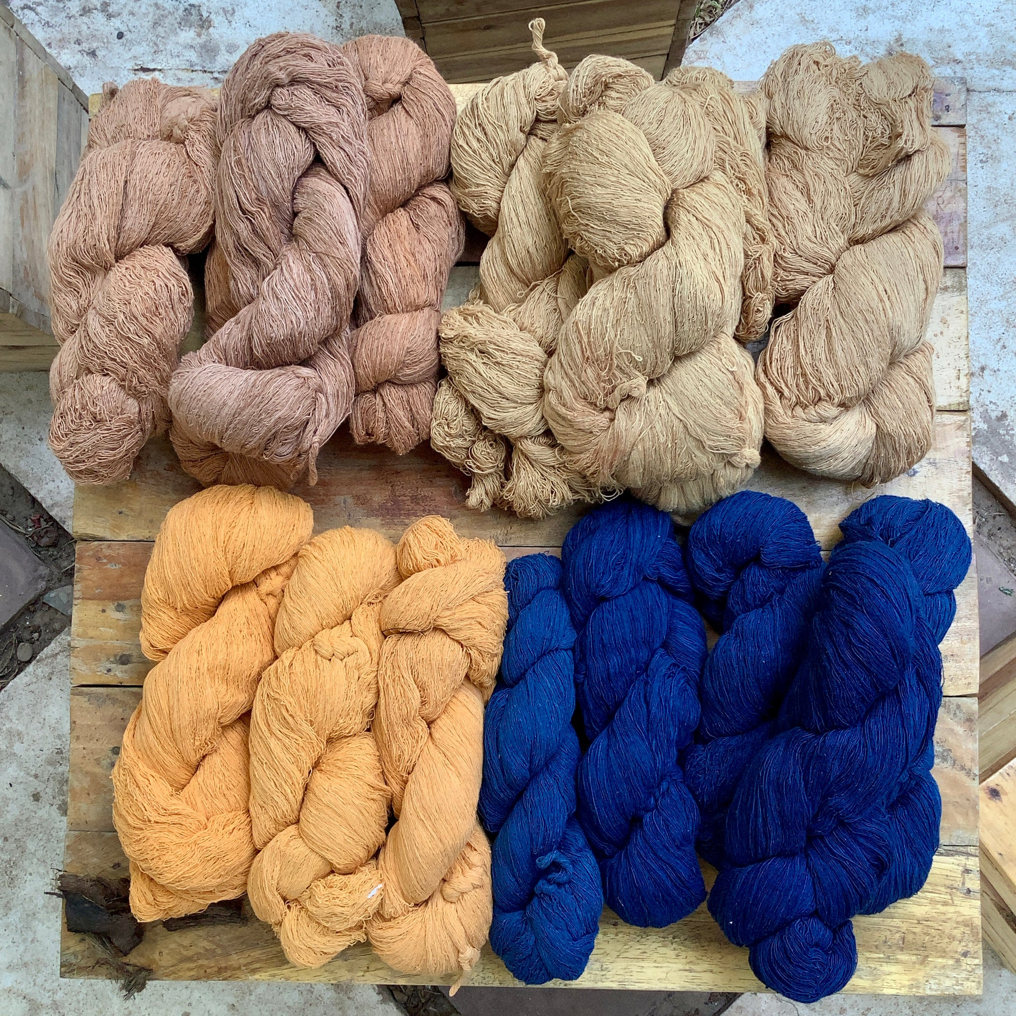 Pure Hand Spun Cotton