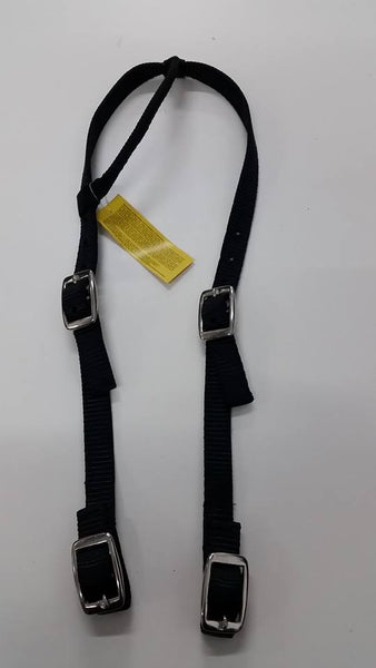 Nylon one ear bridles.
