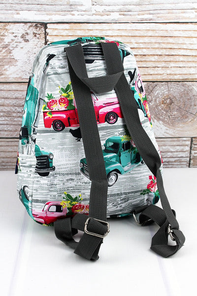Farm Print Backpack