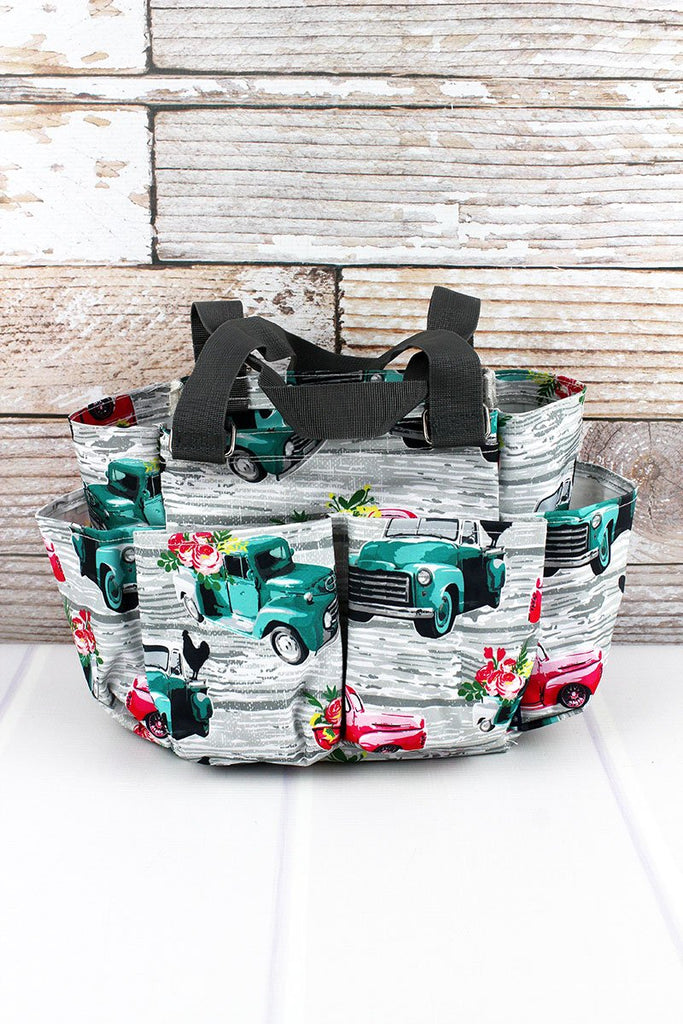 Farm print Organiser Caddy