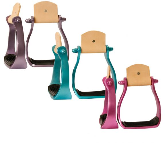 Colour coated aluminum stirrups