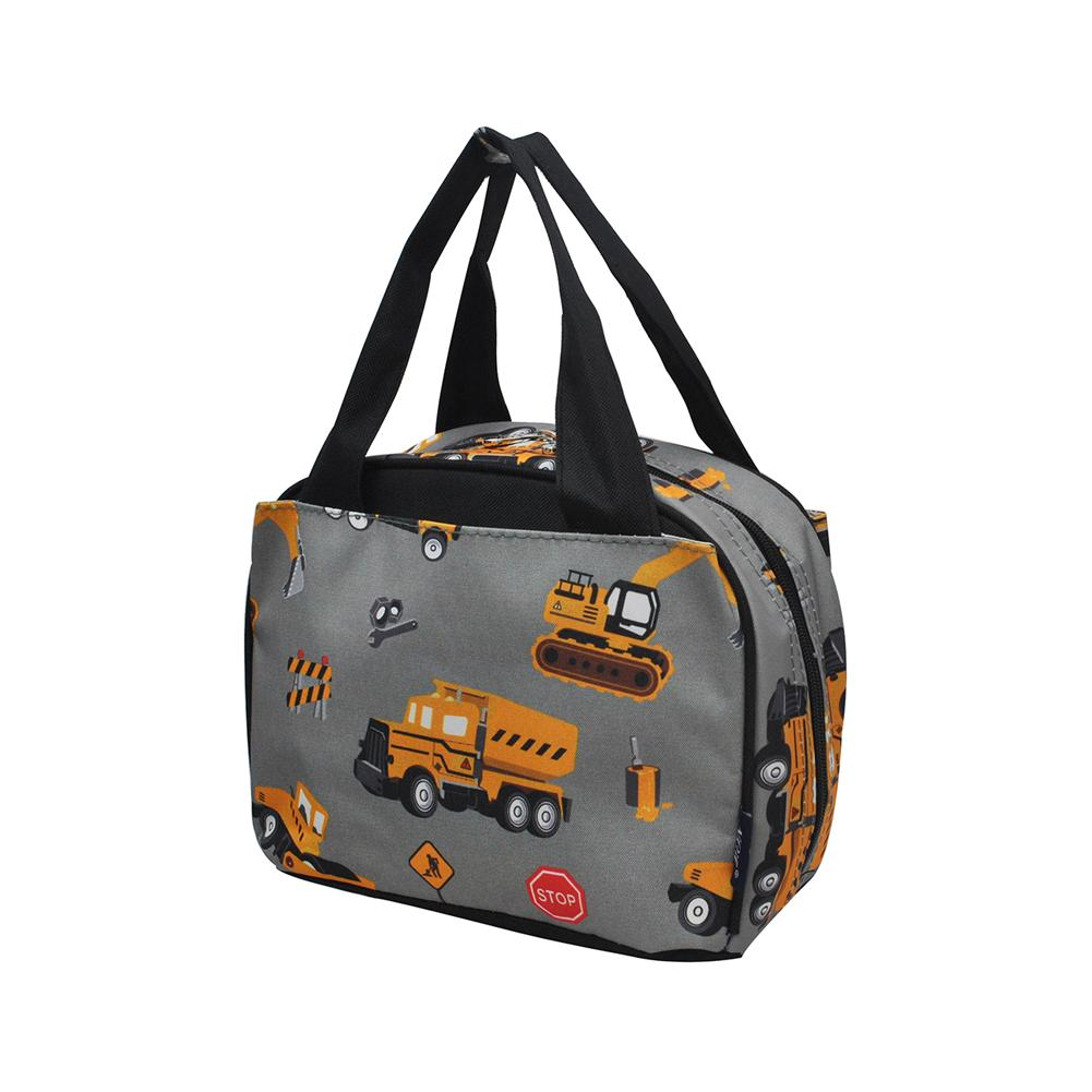 Construction Truck Insulated Lunch Bag
